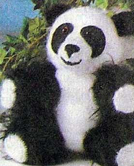 Вяжем игрушку - Медвежонок панда