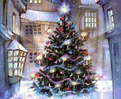 Сценарий новогоднего утренника для детей 6-8 лет