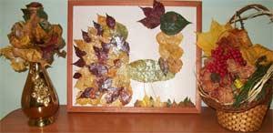 Выставка поделок. «Осенние фантазии» в средней группе.