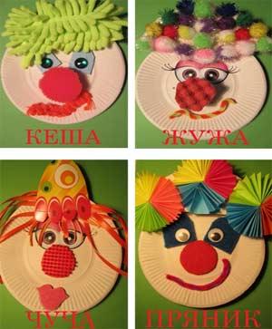 Конспект НОД по развитию творческих способностей у детей через партнёрское взаимодействие со взрослыми и сверстниками в продуктивных видах деятельности в подготовительной группе Афиша для клоуна