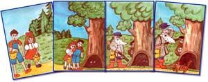 Конспект НОД по развитию речи для детей старшей группы Тема: «Составление рассказа по серии картинок»