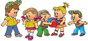 Развлечение в подготовительной группе совместно с родителями «Поиграйте вместе с нами в подвижные игры»