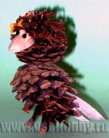 Поделка птичка - невеличка