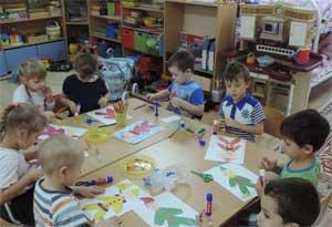 Конспект занятия по аппликации для детей старшей группы Тема: «Петрушка – весёлая игрушка»