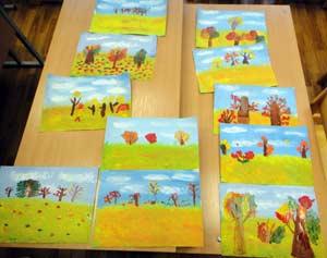 Конспект образовательной деятельности в подготовительной группе на тему: «Как красивы краски осени!»