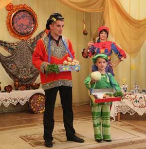 Музыкально-театрализованное развлечение для старших дошкольников «Осенняя ярмарка»