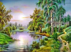 Рисуем пейзаж - Пошаговое руководство