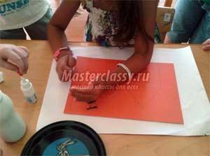 Мастер-класс Красивые картины из песка