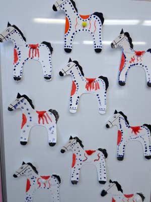 Организация непрерывной непосредственно образовательной деятельности детей в средней группе по теме «Дымковская игрушка»