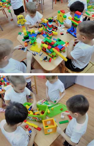 Использование ЛЕГО-технологий в коррекционной работе с детьми с нарушениями речи.