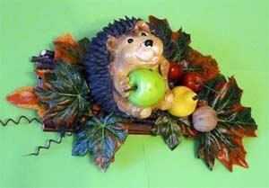 Конспект НОД «Художественное творчество» (лепка) Тема: «Яблочки для ёжика»