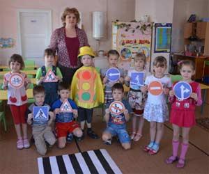 Проект для детей 6-7 лет: Азбуку дорожную, детям знать положено