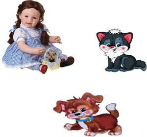 НОД. Речевое развитие: «Кукла Катя и её друзья». Младшая группа.
