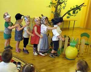 Творческий проект «Наши любимые сказки» для детей первой младшей группы
