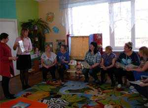 «Семейный клуб как форма организации работы по формированию начальных представлений о здоровом образе жизни у дошкольников»