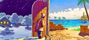 Сказка Зима и Лето