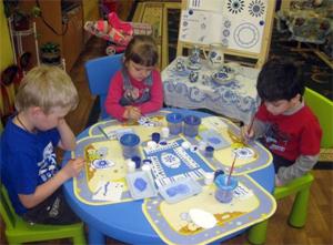 Конспекты занятий по знакомству детей средней группы с декоративно-прикладным промыслом Гжель