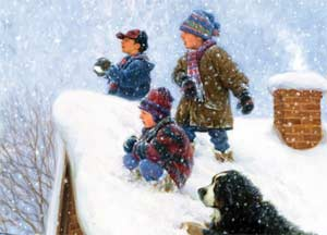 Комплексно – тематический план на неделю «Зимние забавы»