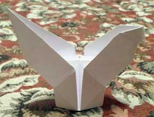 Оригами «Петушок»