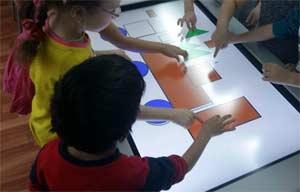 Преимущества использования интерактивного стола в дошкольном учреждении. Непосредственная образовательная деятельность в старшей группе по познавательному развитию (формированию элементарных математических представлений) с использованием интерактивных технологий