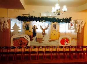 Новогоднее украшение в детском саду