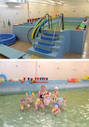 Здоровьесберегающие технологии на занятиях плаванием в детском саду