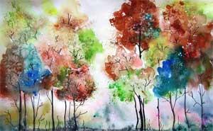 Конспект по художественно-эстетическому развитию в старшей группе Чудесное дерево
