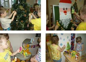 Культурные практики в рамках лексической темы: «Зима. Новый год»