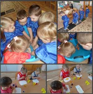 Конспект занятия по рисованию в первой младшей группе Тема: «В гости к рыбке»
