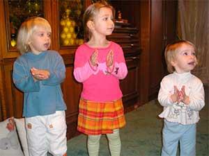 Проект - Ладушки, ладушки (для детей раннего возраста)