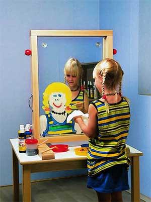 «Прозрачный мольберт — нетрадиционное средство развития творческих способностей у дошкольников».