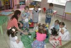 Организованная образовательная деятельность в первой младшей группе по теме «Моя семья»