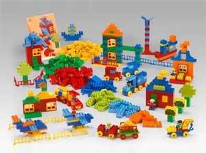 Конструкт по лего-конструированию «Качели»