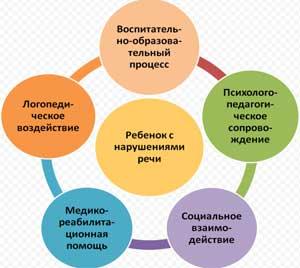 Совместная деятельность специалистов дошкольных организаций в коррекционном процессе