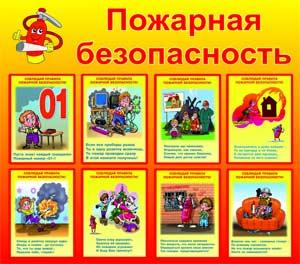 Конспект занятия: «Пожарная безопасность для детей»