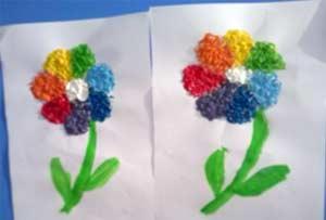 Мастер-класс поделки для мам Цветик-семицветик