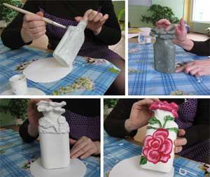Мастер — класс: «Технология развития творческих способностей детей старшего возраста по средствам работы с бросовым материалом «Волшебные бутылочки»