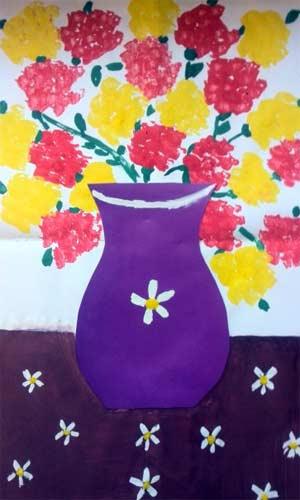 Конспект НОД по художественно-эстетическому развитию во второй младшей группе ДОУ «Роза для мамы»