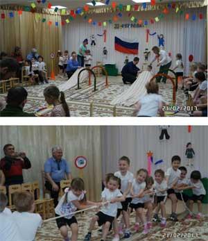 День Защитника Отечества или 23 февраля в детском саду.