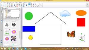 Конспект игрового занятия по математике в старшей группе с использованием интерактивной доски