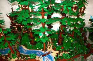 Конспект организованной образовательной деятельности «Познание» (Конструирование из конструктора «Лего») на тему: «Прогулка в лес».