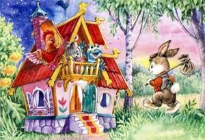 Сценарий постановки русской народной сказки в кукольном театре (средняя группа) Теремок