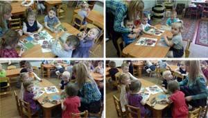 Конспект непрерывной непосредственно организованной образовательной деятельности (лепка) для детей 1 младшей группы «Колобок»