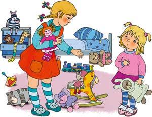 Консультация для родителей: «Убираю игрушки сам»