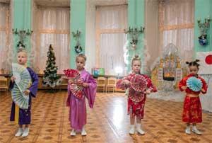Новогоднее путешествие в поисках Деда Мороза для подготовительной группы