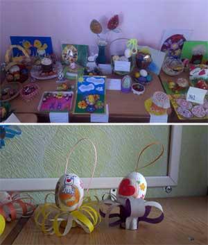 Выставка в детском саду №133 «Светлый праздник Пасха»