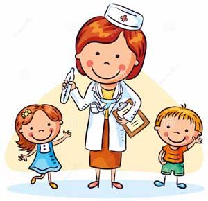 Конспект сюжетно — ролевой игры «У врача» для детей первого и второго вида подготовительной группы