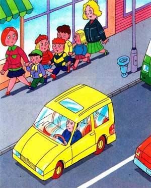 Сценарий организованной образовательной деятельности по правилам безопасного поведения на дороге для детей средней группы