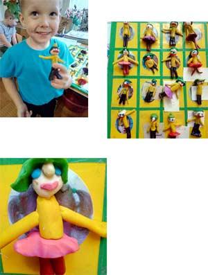 План – конспект НОД По изобразительной деятельности (лепка) По теме: «Человек» «Друзья для куклы Даши»