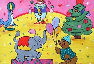 Сценарий Новогоднего утренника для детей подготовительной группы детского сада Цирк